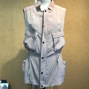 Club Monaco Khaki Utility Vest
